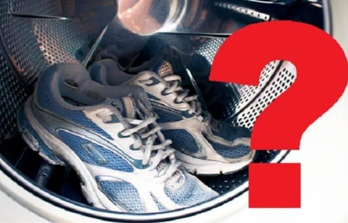 на каком режиме лучше стирать кроссовки