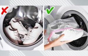 режим стирки кроссовок в стиральной машине