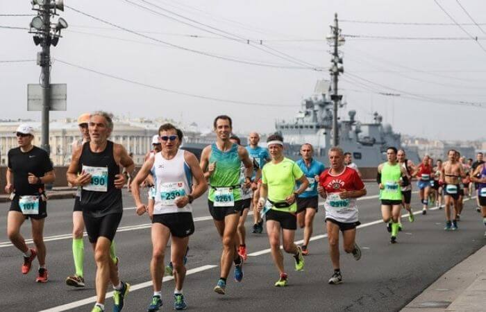 марафон белые ночи спб 2021